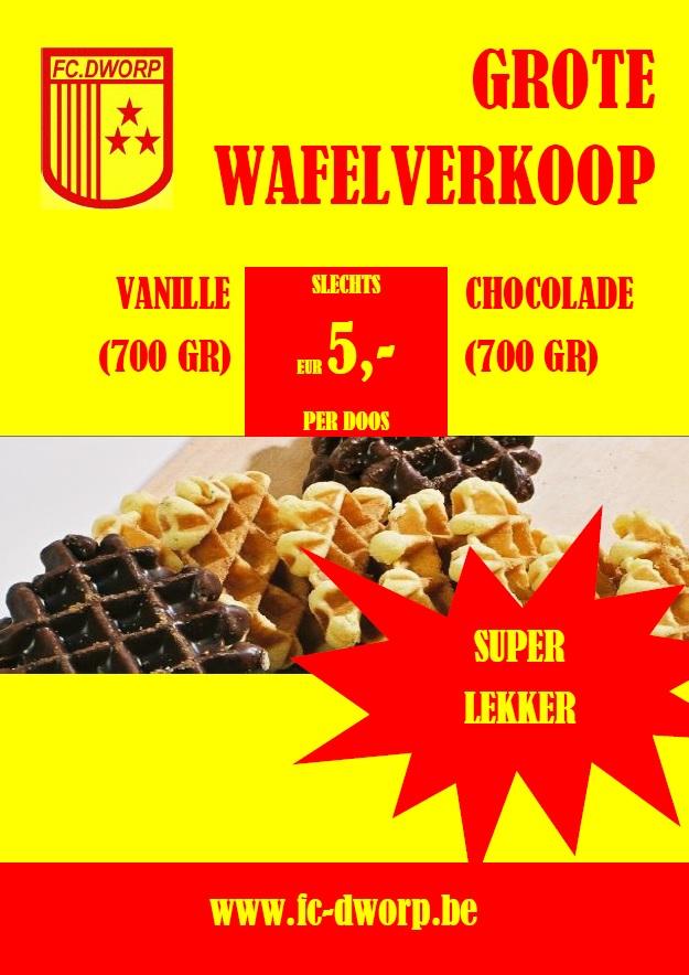 wafelverkoop